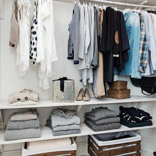 Cómo aprovechar el espacio de un armario