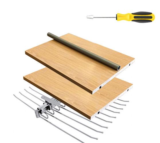 ¿Necesitas estantes, barras... ? corte a medida