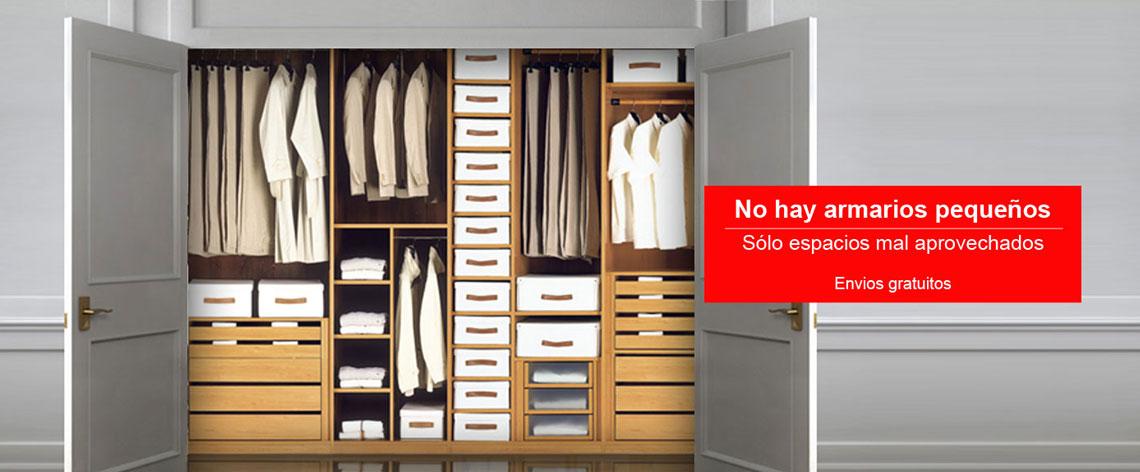 Vestir armarios por dentro perfect el precio medio para - Vestir armarios por dentro ...