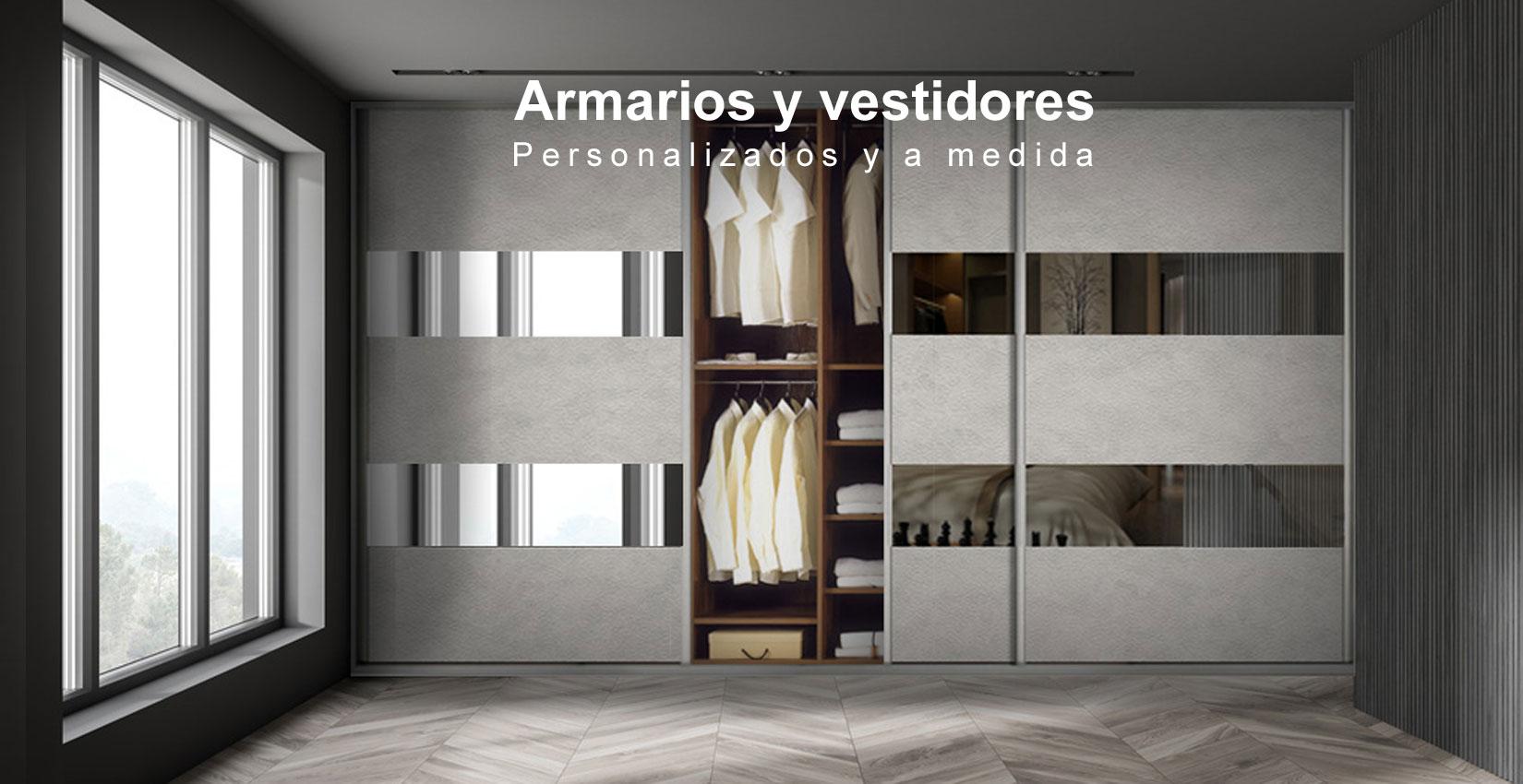 Armarios y vestidores personalizados
