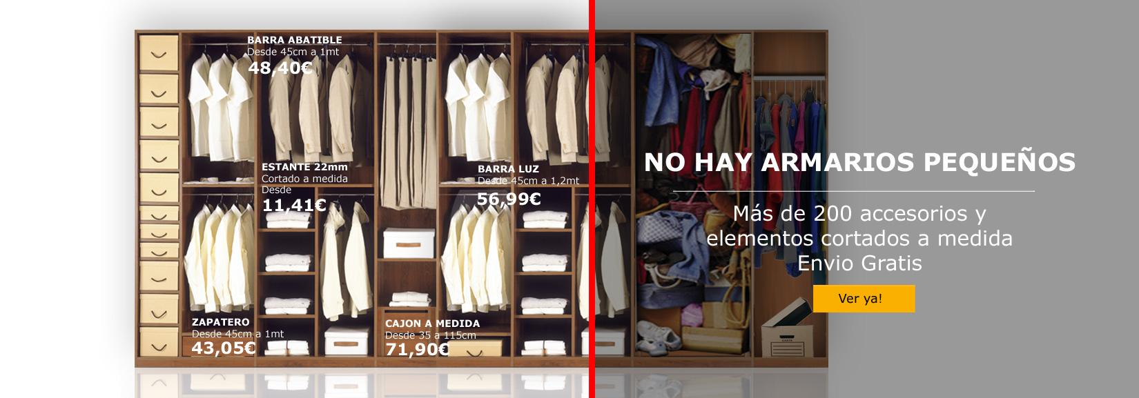 Saiton armarios accesorios para armarios - Accesorios para armarios roperos ...