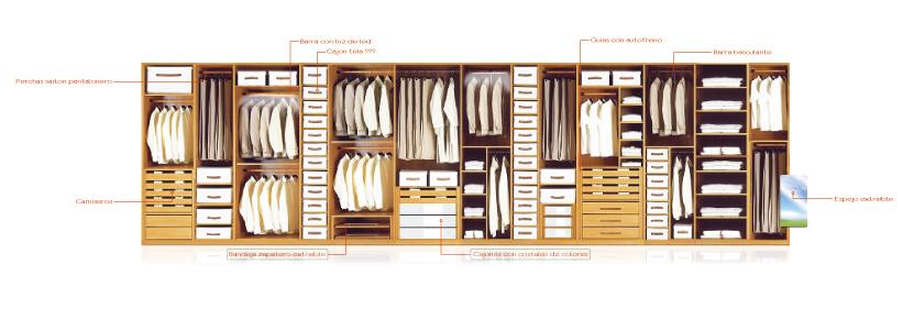 Saiton armarios y vestidores 2009 - Como distribuir un armario ...